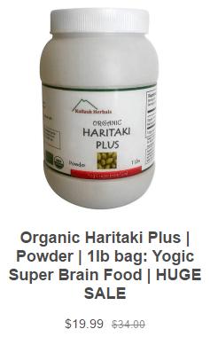 Buy Organic Haritaki Online