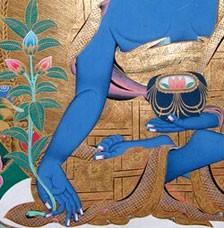 IMAGE OF THE MEDICINE BUDDHA